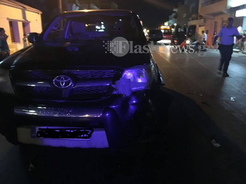 Σοβαρό τροχαίο στα Χανιά – Τρεις τραυματίες, οι δύο σοβαρά[Σκληρές Εικόνες]