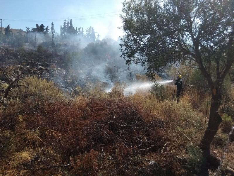 fotiavasilopoulonea-8 Πυρκαγιά στα Χανιά από έκρηξη σε κολώνα ΔΕΗ