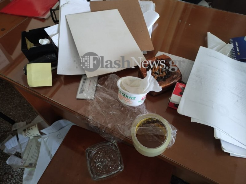 Διαρρήκτες «διέλυσαν» το Εργατικό Κέντρο Χανίων
